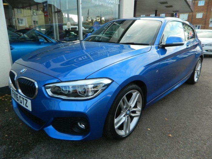 2016/16 BMW 1 SERIES 118i M SPORT STEP AUTO 21864 MILES For Sale (picture 3 of 6)