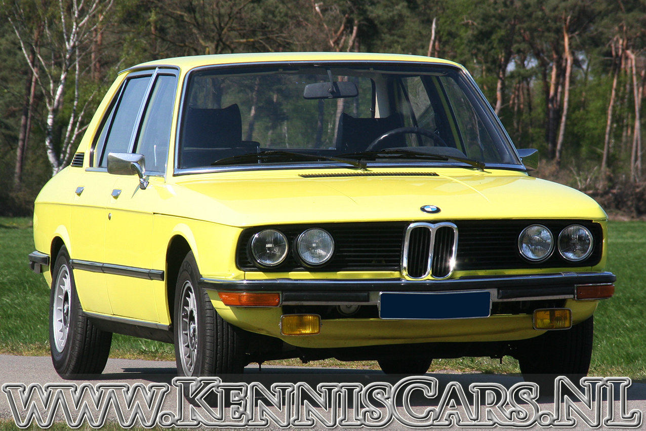 BMW 520/4 1973 in 70's YELLOW For Sale (picture 1 of 6)