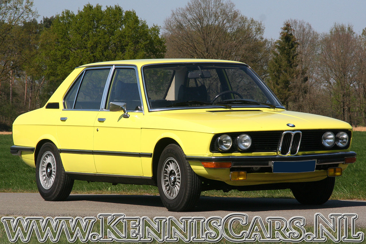 BMW 520/4 1973 in 70's YELLOW For Sale (picture 2 of 6)
