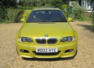 2002 SMG M3 Coupe Phoenix Yellow For Sale