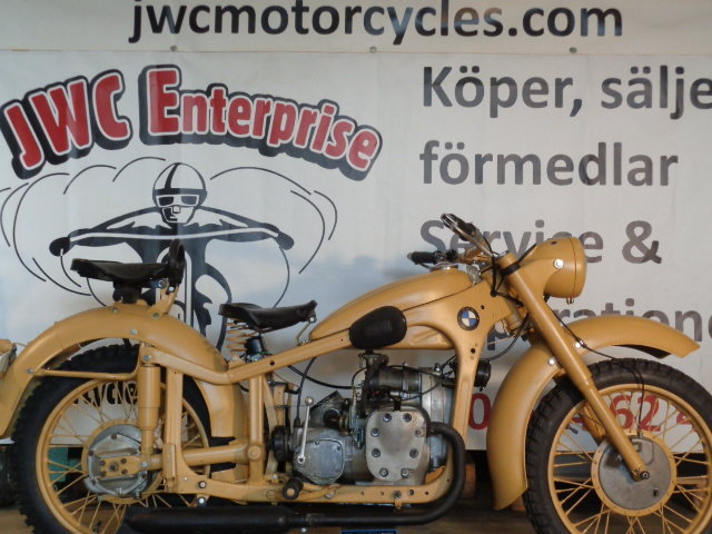 1939 Bmw R12 , Not orginal For Sale (picture 1 of 6)