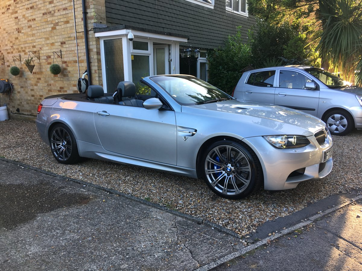 2008 BMW M3 Cabriolet Beautiful example For Sale (picture 4 of 4)