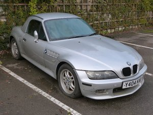2001 BMW Z3 roadster For Sale by Auction