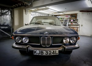 1972 BMW E9 CSi SOLD by Auction