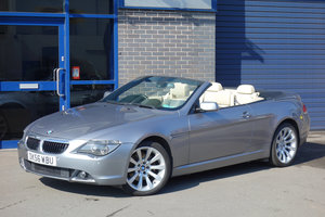 2006 BMW 630i Sport Convertible Auto /56 96000m Full Leather