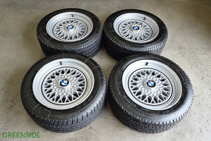 1989 Bmw M6/635 set of used Rare wheels and tyres For Sale