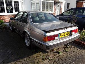 1989 635 CSi for renovation