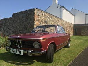 1975 bmw 2002 targa 2 owner number 047 For Sale
