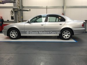 2002 BMW E39 525i Manual - Low Miles 52K, FSH, 1 Owner til 2018 For Sale
