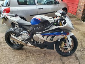 S1000 RR 1800 miles 4 power settings incl slick