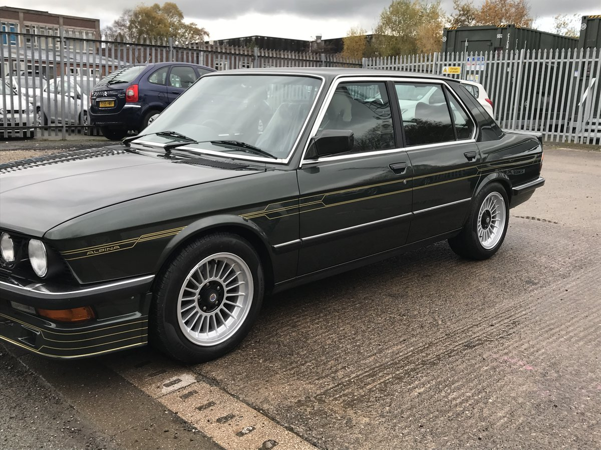 1984 BMW E28 Alpina B9 For Sale (picture 2 of 6)