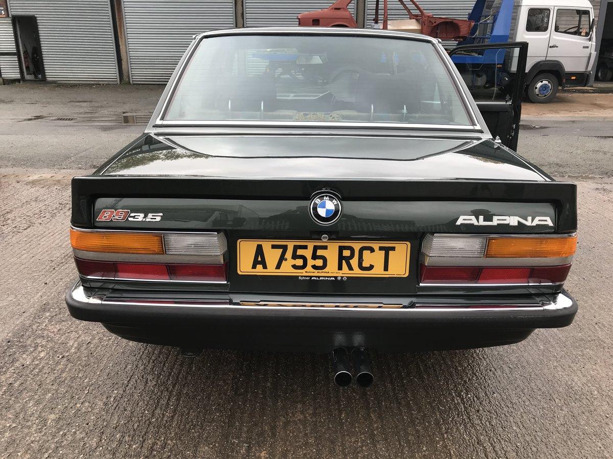 1984 BMW E28 Alpina B9 For Sale (picture 4 of 6)
