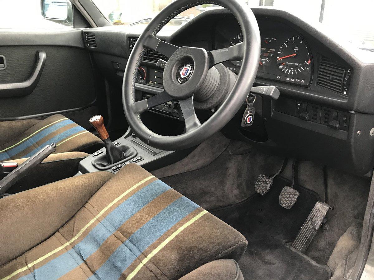 1984 BMW E28 Alpina B9 For Sale (picture 5 of 6)