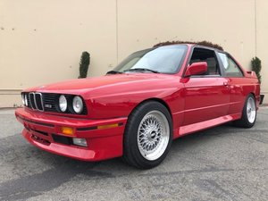 1988 BMW E30 M3 Coupe = Clean Red(~)Black Manual $48.5 For Sale