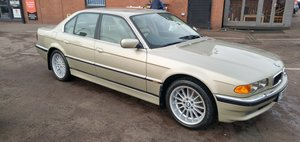 BMW 735i Pearl Beige Met with Pearl Beige Leather