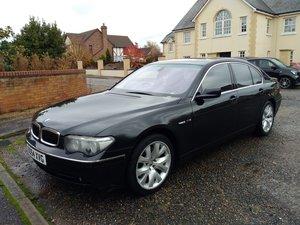 2004 BMW 760i, V12, 443BHP Monster, SWB, Rear Entertainment