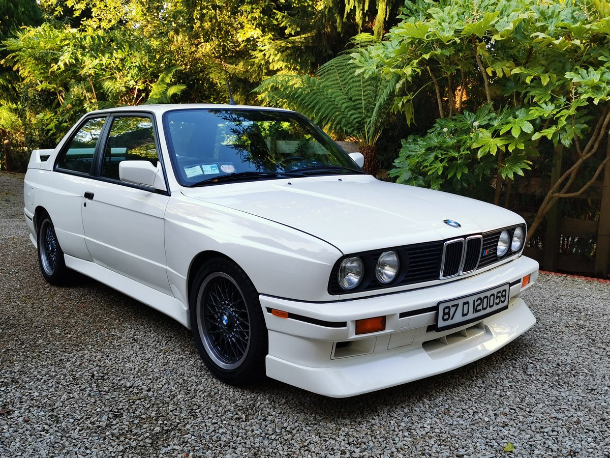 1987 BMW E30 M3 with Comprehensive History Stunning  For Sale (picture 1 of 6)