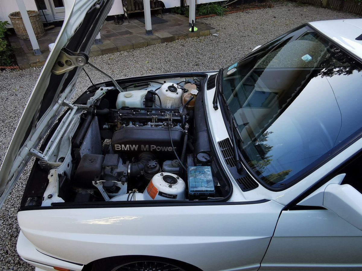 1987 BMW E30 M3 with Comprehensive History Stunning  For Sale (picture 6 of 6)