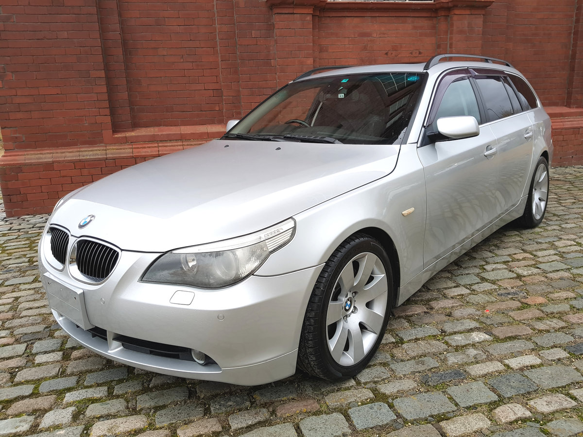 2007 BMW 5 SERIES 550i TOURING 4.8 V8 AUTOMATIC * TOP GRADE IMPOR SOLD (picture 1 of 6)