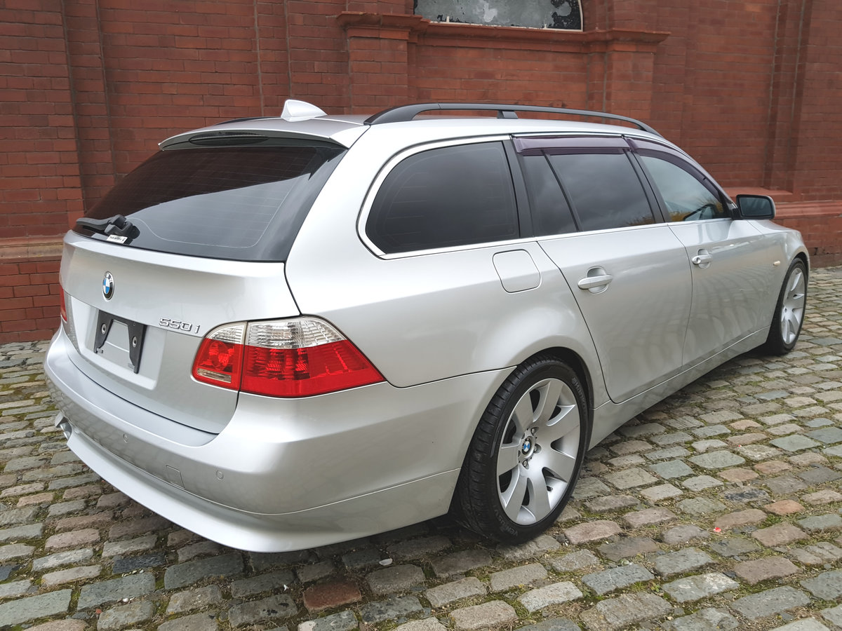 2007 BMW 5 SERIES 550i TOURING 4.8 V8 AUTOMATIC * TOP GRADE IMPOR SOLD (picture 2 of 6)