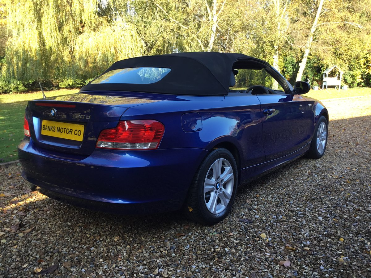 BMW 120d SE Automatic Convertible 2010/10 For Sale (picture 6 of 6)