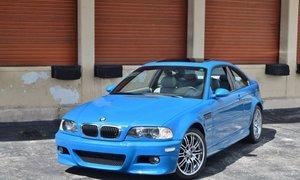 2001 BMW M3 E46 6 Speed Manual Original Laguna Seca Blue For Sale