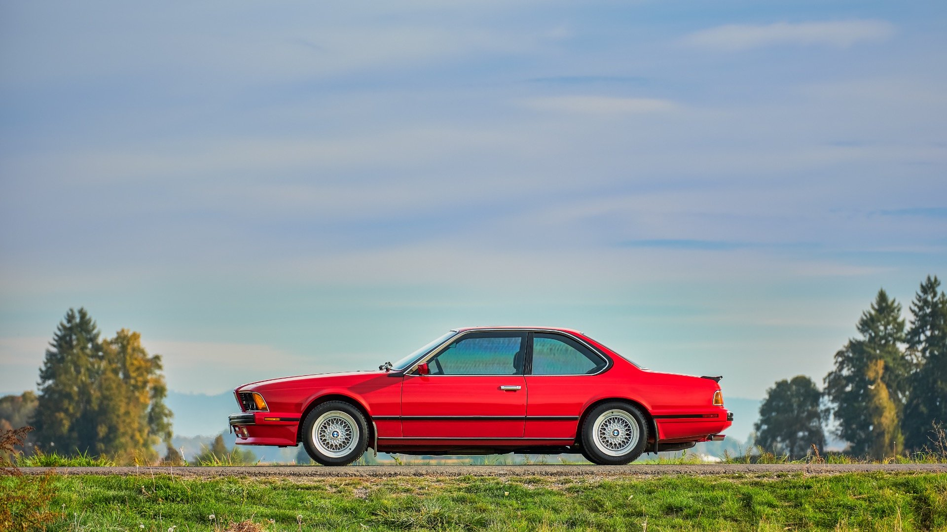 1988 BMW M6 M6 Coupe Manual low 36k miles Red(~)Grey For Sale (picture 1 of 6)