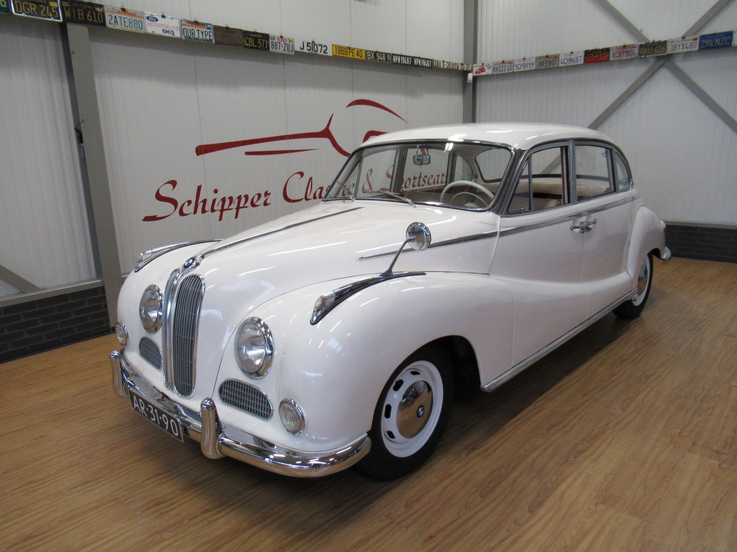 1957 BMW 502 V8 Super 3.2L Barockengel For Sale (picture 1 of 6)