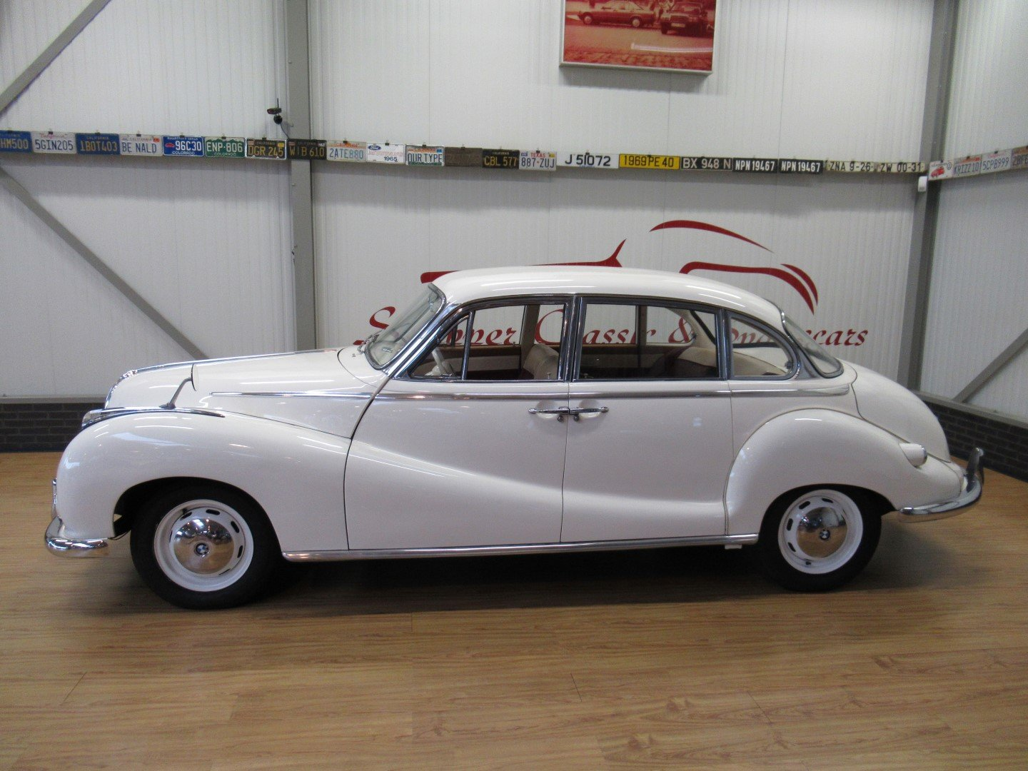 1957 BMW 502 V8 Super 3.2L Barockengel For Sale (picture 2 of 6)