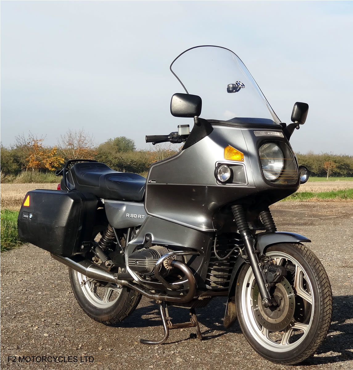 1989 BMW R80RT 1 owner, long MOT, serviced and ready to ride For Sale (picture 1 of 6)