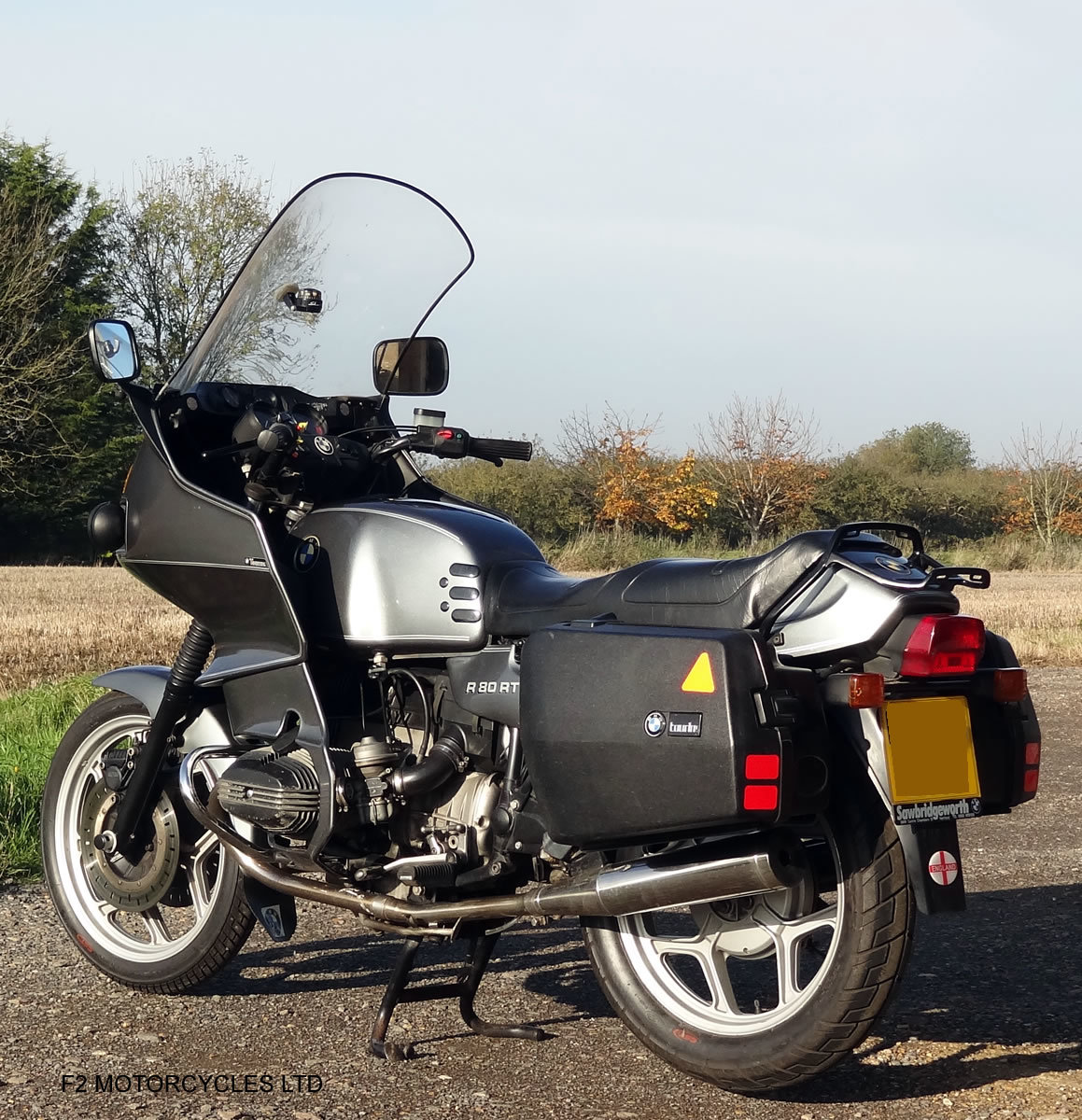 1989 BMW R80RT 1 owner, long MOT, serviced and ready to ride For Sale (picture 4 of 6)