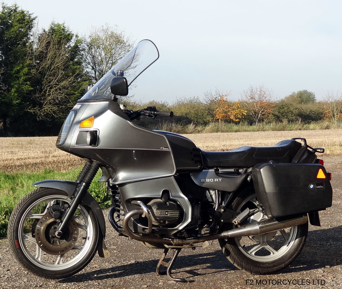 1989 BMW R80RT 1 owner, long MOT, serviced and ready to ride For Sale (picture 5 of 6)
