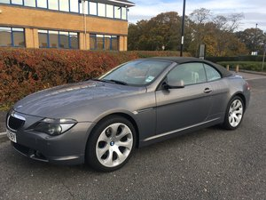 2005 BMW 6 series Convertible