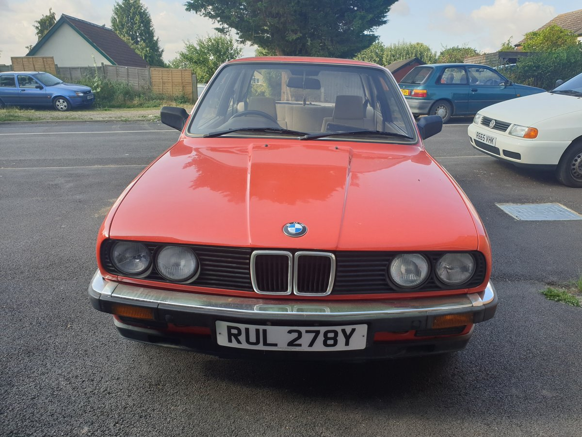 BMW E30 320i 1st year production 68k new lower pri For Sale (picture 4 of 6)