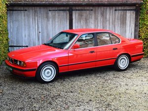 BMW M5 in immaculate original condition