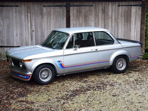 BMW 2002 Turbo. One of only 1672 examples made.