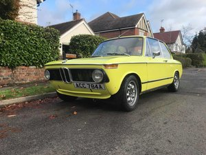 1972 BMW 2002 - No Advisories (Golf Yellow) For Sale
