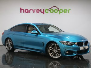 BMW 4 Series 430i M Sport 5dr Auto [Professional Media] 2017 SOLD