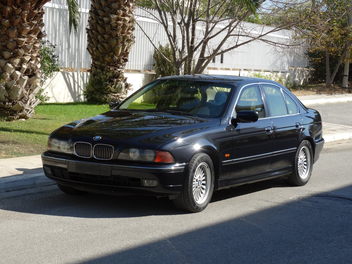 1998 BMW E39 540iP, B4 Ballistic Protection, original paint For Sale (picture 1 of 6)