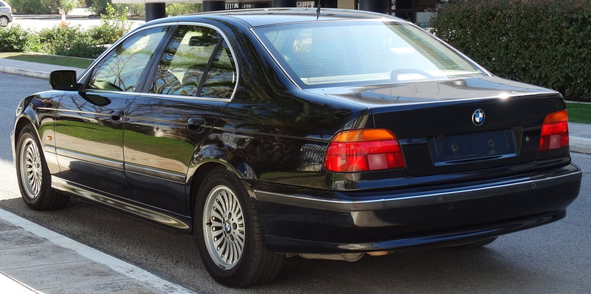 1998 BMW E39 540iP, B4 Ballistic Protection, original paint For Sale (picture 2 of 6)