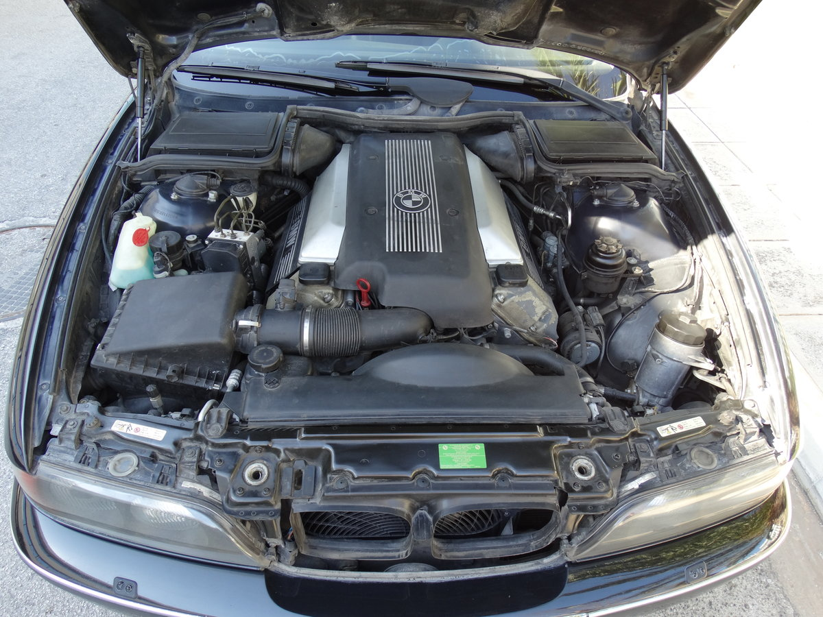 1998 BMW E39 540iP, B4 Ballistic Armoury Protection For Sale (picture 6 of 6)