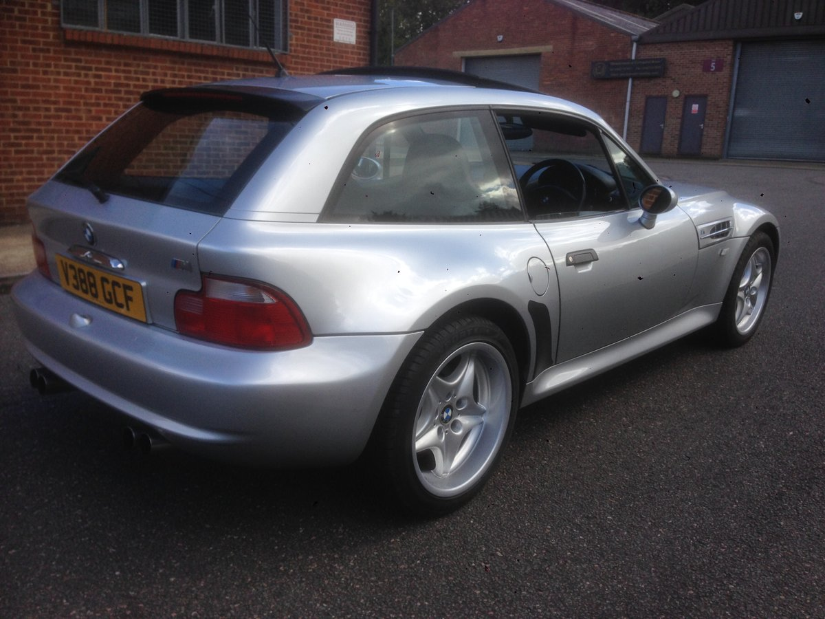 1999 Immaculate BMW Z3M Coupe only 70000 miles from new For Sale (picture 5 of 5)