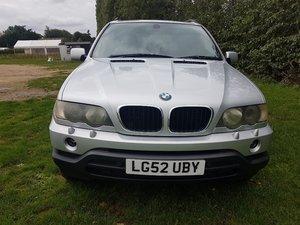 2002 BMW X5 D SPORT AUTO