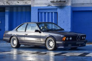 1989 BMW 635 CSi Motorsport Edition