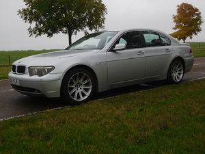 BMW 745, 2004, PETROL AND LPG HYBRID