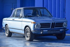 1973  BMW 2002 Baur Cabriolet