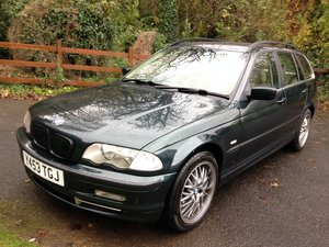 2001 BMW 330i MANUAL SE TOURING INDIVIDUAL FULL MOT For Sale