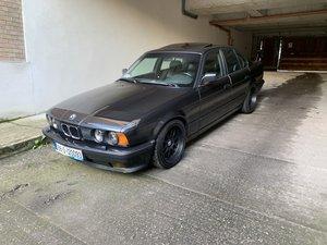 1988 Bmw 535i LHD manual Rebuilded