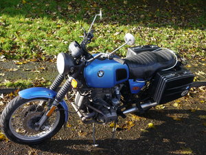 1980 BMW R80/7 Classic Motorbike 800cc For Sale