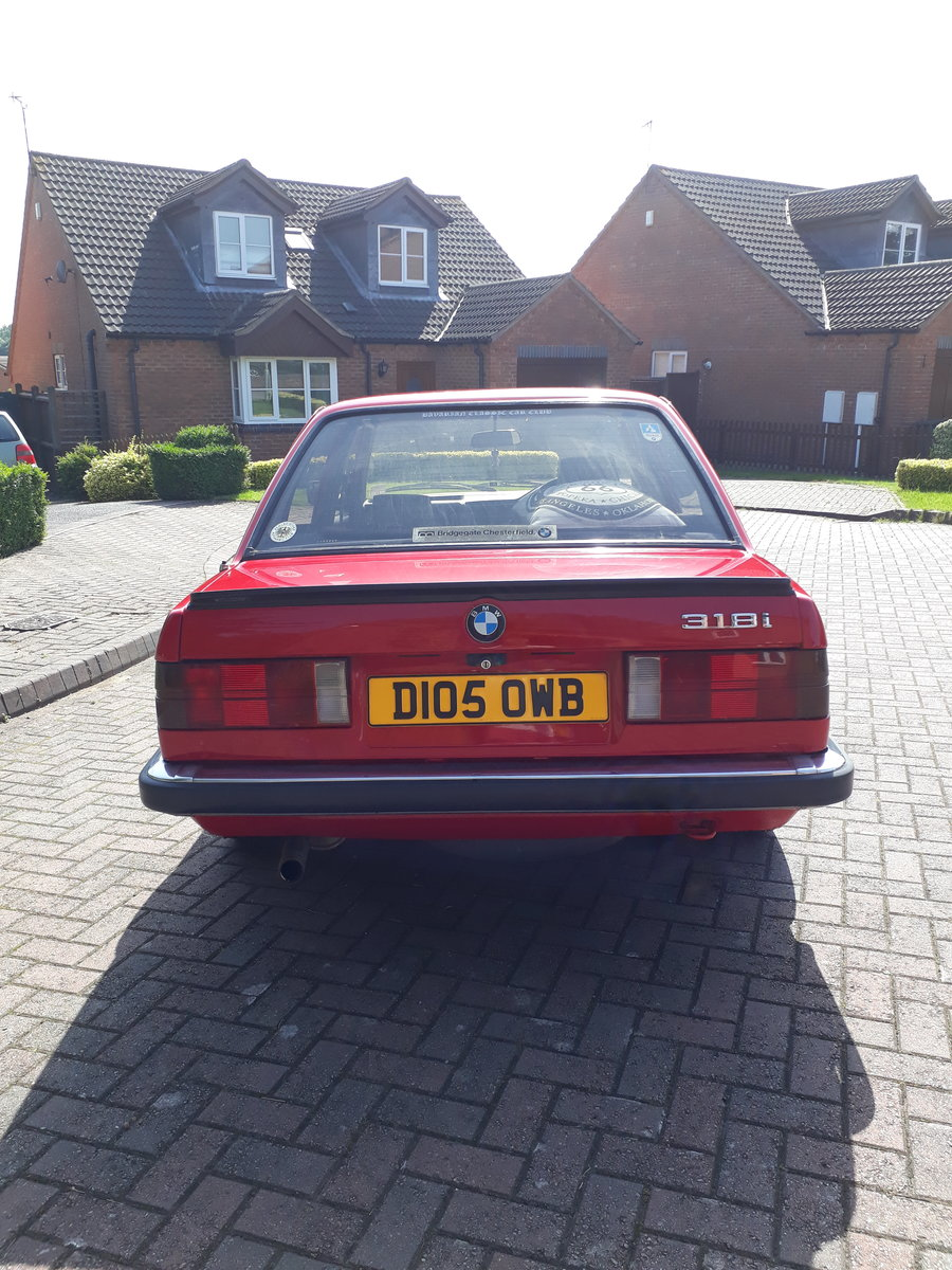 1986 BMW E30 318i SOLD (picture 4 of 6)